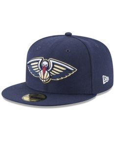 46663083f31 New Era New Orleans Pelicans Basic 59FIFTY Fitted Cap - Blue 7 1 2