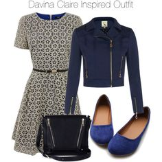The Originals - Davina Claire Inspired Outfit by staystronng on Polyvore featuring Yumi, Ollio, Sole Society, to and DavinaClaire