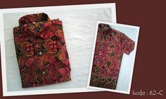 Kemeja Batik 62C | IDR 70.000 | Bahan : Sandwash | Size M, L, XL | Order : 081333303545