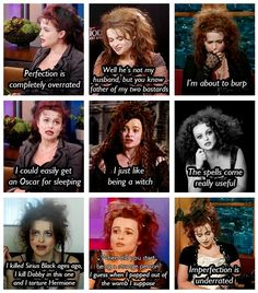 Helena Bonham Carter. She's great