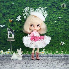 Doll clothes for Neo Blythe. di RabbitinthemoonThai su Etsy