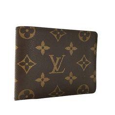 100% Authentic Louis Vuitton Monogram Multiple Bifold Wallet /434