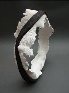 Ceramic art sculpture