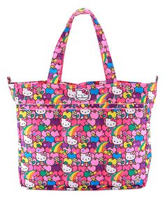 Look at this Ju-Ju-Be Lucky Stars Hello Kitty Super Be Bag on #zulily today!