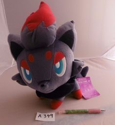 Banpresto Zorua Pokemon Plush Doll Novelty 2010 .shopper plastic bag With gifts…