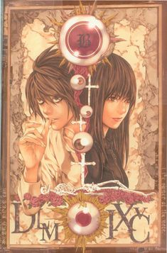 Death Note. i love so much the book with L and Naomi Misora
