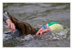 breathing technique  perfectly mastered this athlete at the German Triathlon Championships U23 in 2012 in Darmstadt.