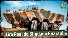 Tiro Real do Blindado Guarani (vídeo mais assistido no canal do Exército)
