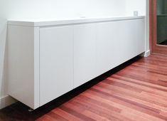 Flush built-in sideboard