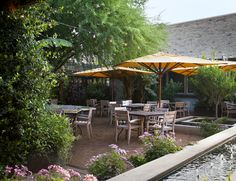 Lush environment surrounded by nature Lush, Pergola, Environment, Outdoor Structures, Restaurant, Patio, Outdoor Decor, Nature, Design