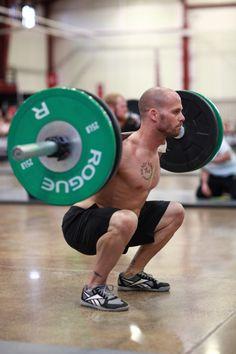 Speal back squats like a champ.