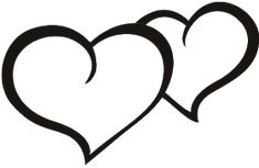 This is best Heart Outline Love Heart Black Outline Images for your project or presentation to use for personal or commersial. Crown Images, Heart Clip Art, Outline Images, Black And White Heart, Heart Outline, Banner, Romance, Heart Tattoo Designs, Tattoos