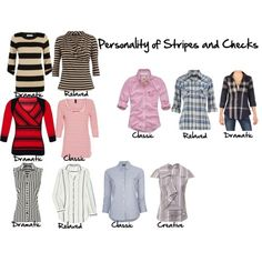 Personality of Stripes and checks,  Imogen Lamport, Inside out Style, Bespoke Image, Wardrobe Therapy, style, women