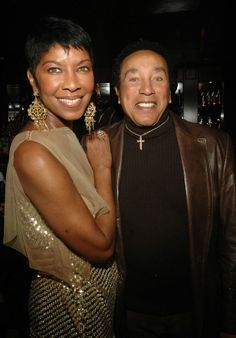 Natalie Cole through the years...pictured with singer.producer Smokey Robinson