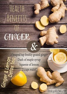 Ginger is a well loved, tried and tested, flavoursome warming spice with loads of health benefits. Check out this article with lots of info and recipes at Trinity's Kitchen.