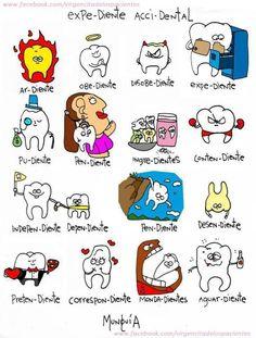 Good Dental Hygiene – How To Take Care of Your Teeth and Gums Daily Humor Dental, Dental Quotes, Dental Hygiene School, Dental Assistant, Oral Health, Dental Health, Dental World, Nursing School Tips, Ob Nursing