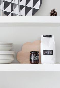 shelves.. #kitchen