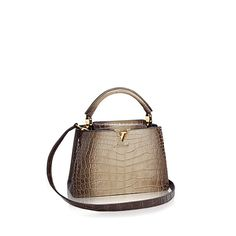 Capucines BB - Crocodile Brillant - Rare and Exceptional   LOUIS VUITTON Sac  À Main, 859f8a9c4be