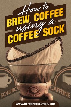 A coffee sock might be the simplest answer for all your quick and consistent coffee brew needs. Coffee Guide, Coffee Blog, Coffee Is Life, Coffee Lovers, Coffee Uses, Coffee Type, Coffee Coffee, Coffee Break, Craving Coffee