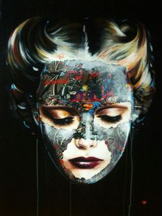 Sandra Chevrier Sandra Chevrier, Pop Art, Halloween Face Makeup, Images, Comic Books, Sculpture, Art Prints, Abstract, Illustration