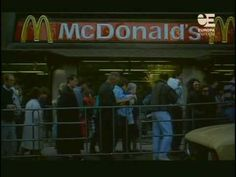 On This Day January 31 1990 McDonald's begins it's invasion of Moscow In Soviet Russia, Russian Culture, Russia News, Jack In The Box, Krispy Kreme, Spiritual Connection, Soviet Union, Change My Life, Just Love