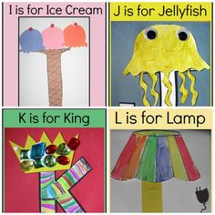 letter of the week crafts for preschoolers i-l