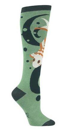 2b0b14cf1e1a9 I dig koi ponds. They re rad. Green knee high socks with a