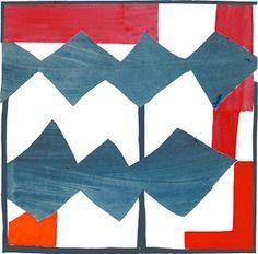 Double Diamond (2003) by Sandra Blow