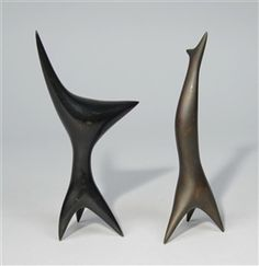 Antoine Poncet, TWO PETIT ABSTRACT SCULPTURES