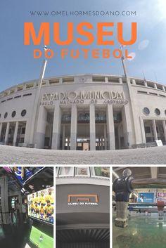 O Museu do Futebol fica no Estádio do Pacaembu, em São Paulo. É um museu interativo que conta a história do esporte no Brasil e no mundo. Um dos museus mais interessantes de São Paulo.