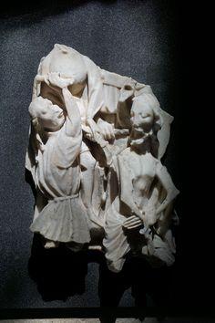 Flagellation, albâtre, fin du XVe siècle, Abbeville, Musée Boucher-de-Perthes
