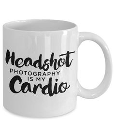 Photographer Coffee Mug  Headshot Photography is by MagazineMama