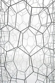 FOAM (detail, 2013) design by Hiroshi Yoneya via TONERICO: INC