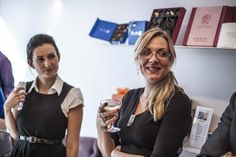 Alexeeva and Jones Chocolate and Champagne tasting event