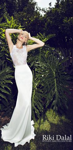 Wedding Dresses by Riki Dalal - Provence Collection   bellethemagazine.com