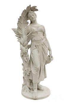 Hephaestus greek plaster statue Greek statues Plaster ...