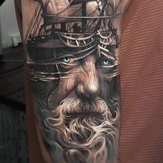 Artista cria tatuagens 3D surreais com profundidade e definição incríveis 10