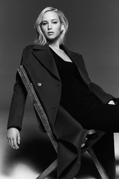 The American actress Jennifer Lawrence, born August 15, 1990. Photo by Miller Mobley.