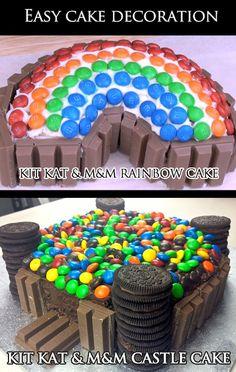 Super Easy Cake Decorations