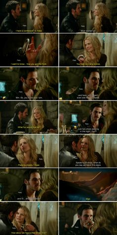 Past!Hook and Emma #OnceUponATime
