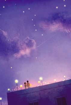 what i wouldn't give to watch a comet with you.