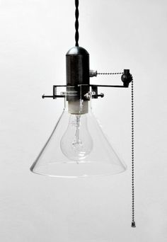Machine Shop Industrial Pendant Lawrence Pulley #lighting