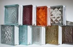 GLASS BLOCKS ROCK IT IN COLOR | Feng Shui By Fishgirl