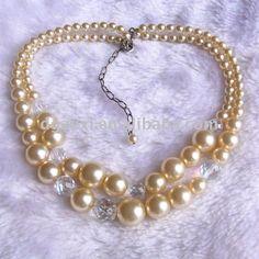 Como Hacer Collares De Perlas | de cristal y perlas collares de cuentas-Collares-Identificación del ...