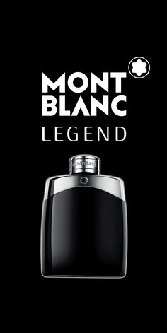 Montblanc Legend, a fragrance that embodies all the richness of the Montblanc brand, an eternal and timeless fougere. Mont Blanc Fragrance, Best Perfume, Bottle Design, Make You Smile, Gifts For Him, Perfume Bottles, Mens Fashion, Twilight, Beauty