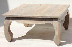 Stolik opium z drewna mango