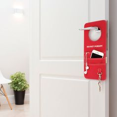 DOORGANIZER | Door hanging reminder