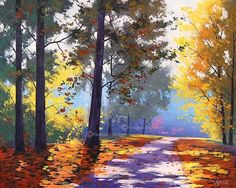 Autumn OIL PAINTING Impressionist    ...BTW,Please Check this out:  http://artcaffeine.imobileappsys.com