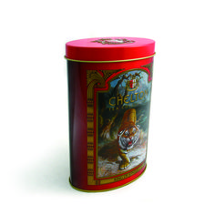 This tea tin can keep the tea well because of the solid lid.The quality offset printing make it suitable for tea packing, not only as a promotional item but also.