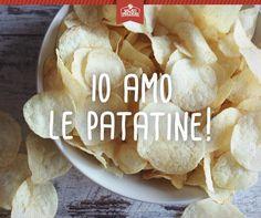 Non ne abbiamo mai abbastanza delle #patatine Salati Preziosi! Con chi volete condividerle?